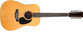 Musical Instruments:Acoustic Guitars, 1972 Martin D-12-28 12-String Natural Acoustic Guitar, #301244. ...