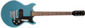 Musical Instruments:Electric Guitars, 1966-69 Gibson Melody Maker Pelham Blue Electric Guitar, #520298. ...