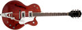 Musical Instruments:Electric Guitars, 1962 Gretsch Tennessean Cherry Hollow Body Electric Guitar, #47329....