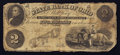 Obsoletes By State:Ohio, Cuyahoga Falls, OH- State Bank of Ohio Summit County BranchCounterfeit $2 Apr. 3, 1859. ...
