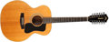 Musical Instruments:Acoustic Guitars, 1979 Guild E-212 XL NT Natural 12-String Acoustic Guitar, #198056....