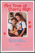 """Movie Posters:Adult, First Time at Cherry High Lot (VCA, 1984). One Sheets (5) (27"""" X 41""""). Adult.. ... (Total: 5 Items)"""