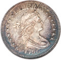 Early Quarters, 1796 25C MS64 NGC. B-2, R.3....