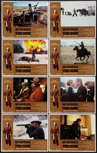 "Tom Horn (Warner Brothers, 1980). Lobby Card Set of 8 (11"" X 14""). Western. ... (Total: 8 Items)"