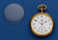 Timepieces:Pocket (post 1900), Ball Rare BRT Standard Marked Dial & Movement 19 Jewel, SerialB 0560709, 16 Size Railroad Pocket Watch. ...