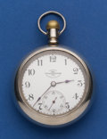Timepieces:Pocket (post 1900), Ball 18 Size, 17 Jewel Grade 999 Official Standard Serial No.458626 Pocket Watch. ...
