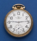 Timepieces:Pocket (post 1900), Ball 16 Size 21 Jewel Official Standard Serial No. B 650333 Pocket Watch. ...