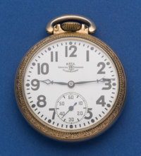 Ball 16 Size 21 Jewel Official Standard Serial No. B 650333 Pocket Watch