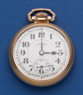 Timepieces:Pocket (post 1900), Illinois 16 Size 21 Jewel 60 Hour Bunn Special Pocket Watch. ...