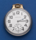 Timepieces:Pocket (post 1900), Hamilton Two-Tone Case 992 B Pocket Watch. ...