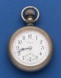 Timepieces:Pocket (post 1900), Illinois 18 Size The Queen Extra N. Gamse New York 17 JewelTwo-Tone Pocket Watch. ...