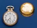 Timepieces:Pocket (post 1900), Burlington 21 Jewel 16 Size Bull Dog Pocket Watch. ...
