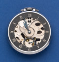 Timepieces:Pocket (post 1900), Girard Perregaux Shell 12 Size Pocket Watch. ...