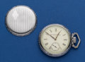 Timepieces:Pocket (post 1900), Elgin 16 Size Fancy Dial Pocket Watch. ...