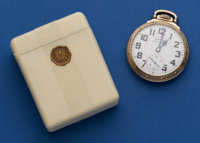 Hamilton 992 B Pocket Watch 21 Jewel With Original Box