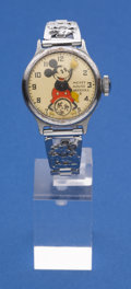 Timepieces:Wristwatch, Ingersoll Original Mickey Mouse Wristwatch. ...