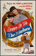 """Movie Posters:Comedy, Leave It to the Marines (Lippert, 1951). One Sheet (27"""" X 41""""). Comedy.. ..."""