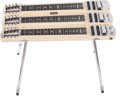 Musical Instruments:Lap Steel Guitars, 1955 Fender Stringmaster Blonde Console Steel Guitar, No SerialNumber. ...