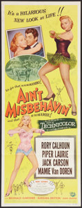 "Movie Posters:Musical, Ain't Misbehavin' (Universal International, 1955). Insert (14"" X36""). Musical.. ..."