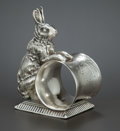 Silver Holloware, American:Napkin Rings, AN AMERICAN SILVER PLATED FIGURAL NAPKIN RING . Southington Co.,Hartford, Connecticut, circa 1875. Marks: SOUTHINGTON CO....