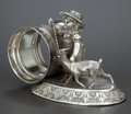 Silver Holloware, American:Napkin Rings, AN AMERICAN SILVER PLATED FIGURAL NAPKIN RING . Meriden SilverPlate Co., Meriden, Connecticut, circa 1875. Marks:MERIDEN...