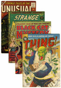 Golden Age (1938-1955):Horror, Comic Books - Assorted 1950s Horror Comics Group (Various,1952-57).... (Total: 4 Comic Books)