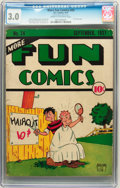 Platinum Age (1897-1937):Miscellaneous, More Fun Comics #24 (DC, 1937) CGC GD/VG 3.0 Cream to off-whitepages. ...
