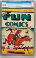 Platinum Age (1897-1937):Miscellaneous, More Fun Comics #23 (DC, 1937) CGC GD/VG 3.0 Slightly brittle pages. ...