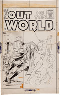 Original Comic Art:Covers, Steve Ditko Out of This World #4 Cover Original Art(Charlton, 1957)....