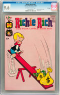 Silver Age (1956-1969):Humor, Richie Rich #40 File Copy (Harvey, 1965) CGC NM+ 9.6 Off-white to white pages....