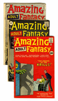 Silver Age (1956-1969):Science Fiction, Amazing Adult Fantasy Group (Marvel, 1962) Condition: AverageVG.... (Total: 6 Comic Books)