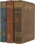 "Books:Literature Pre-1900, Louisa May Alcott. Three Novels, including: Comic Tragedies. Written by ""Jo"" and ""Meg"" and Acted by the ""Lit... (Total: 3 Items)"