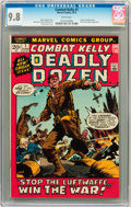 Bronze Age (1970-1979):War, Combat Kelly #1 (Marvel, 1972) CGC NM/MT 9.8 White pages....