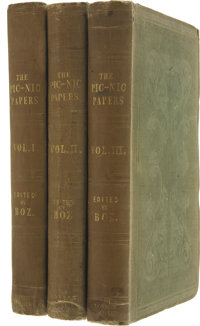 [Charles Dickens, editor]. The Pic Nic Papers. By Various Hands. Edited by Charles D