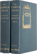 Books:Literature Pre-1900, Charles Dickens. The Posthumous Papers of the PickwickClub.... (Total: 2 Items)