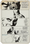 "Original Comic Art:Panel Pages, Frank Miller and Terry Austin Daredevil #191 ""Roulette"" page18 Original Art (Marvel, 1983)...."