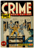 Golden Age (1938-1955):Crime, Crime Does Not Pay #47 (Lev Gleason, 1946) Condition: FN/VF....