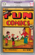 Platinum Age (1897-1937):Miscellaneous, More Fun Comics #14 (DC, 1936) CGC Apparent GD 2.0 Slight (A) Creamto off-white pages. ...