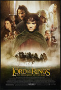"Movie Posters:Fantasy, The Lord of the Rings: The Fellowship of the Ring (New Line, 2001).One Sheet (27"" X 40""). DS Advance Style D. Fantasy.. ..."