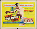 "Movie Posters:Sports, The Joe Louis Story (United Artists, 1953). Half Sheet (22"" X 28"") Style B. Sports.. ..."