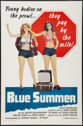 "Movie Posters:Sexploitation, Blue Summer Lot (Monarch, 1973). One Sheets (2) (27"" X 41"").Sexploitation.. ... (Total: 2 Items)"