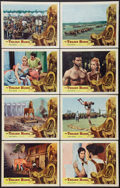 "Movie Posters:Action, The Trojan Horse Lot (Colorama, 1962). Lobby Card Sets of 8 (2)(11"" X 14""). Action.. ... (Total: 16 Items)"