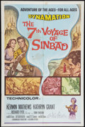 """Movie Posters:Fantasy, The 7th Voyage of Sinbad (Columbia, R-1971). One Sheet (27"""" X 41"""").Fantasy.. ..."""