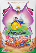 "Movie Posters:Animation, Snow White and the Seven Dwarfs Lot (Buena Vista, R-1993). One Sheets (3) (27"" X 40"" and 27"" X 41""). DS and SS. Animation.. ... (Total: 3 Items)"