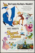 "Movie Posters:Animated, The Sword in the Stone Lot (Buena Vista, R-1973). One Sheets (3)(27"" X 41""). Animated.. ... (Total: 3 Items)"
