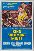 "Movie Posters:Adventure, King Solomon's Mines Lot (MGM, R-1962). One Sheets (27"" X 41"").Adventure.. ... (Total: 2 Items)"