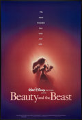 "Movie Posters:Animated, Beauty and the Beast (Buena Vista, 1991). One Sheet (27"" X 41""). DSAdvance. Animated.. ..."