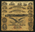 Obsoletes By State:Alabama, Montgomery, AL- Central Bank $1 Oct. 1, 1861; $5 (Two Examples); $10 Oct. 1, 1857; $20 Sep. 1, 1855. ... (Total: 5 notes)