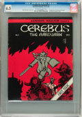 Bronze Age (1970-1979):Alternative/Underground, Cerebus The Aardvark #1 (Aardvark-Vanaheim, 1977) CGC FN+ 6.5 Off-white to white pages....