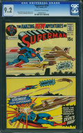 Bronze Age (1970-1979):Superhero, Superman #235 (DC, 1971) CGC NM- 9.2 Off-white to white pages.